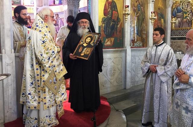 Ανώτατη τιμητική διάκριση στον αρχιεπίσκοπο Σινά, κ. Δαμιανό