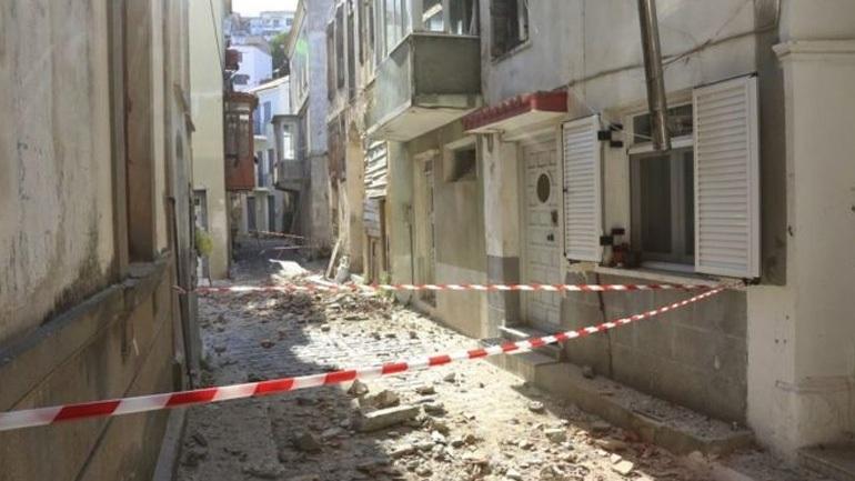 Συνολικά 1.115 τα μη κατοικήσιμα κτίσματα από τον σεισμό στη Λέσβο