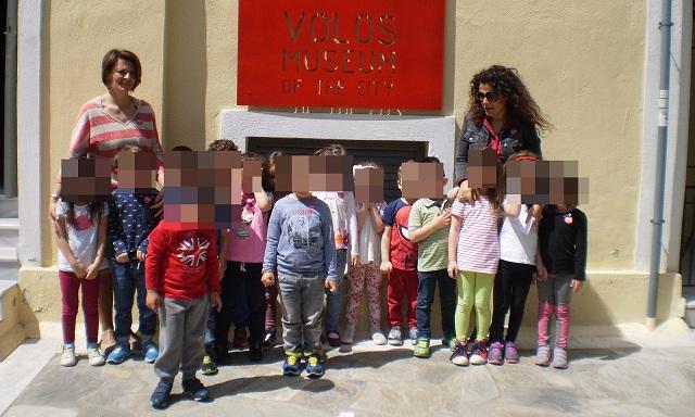 Τα παιδιά των Παιδικών Σταθμών στα Μουσεία της πόλης