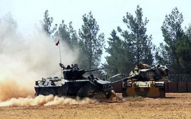 Συρία: Τουρκικές δυνάμεις ανταπέδωσαν τα πυρά που δέχτηκαν από Κούρδους της πολιτοφυλακής