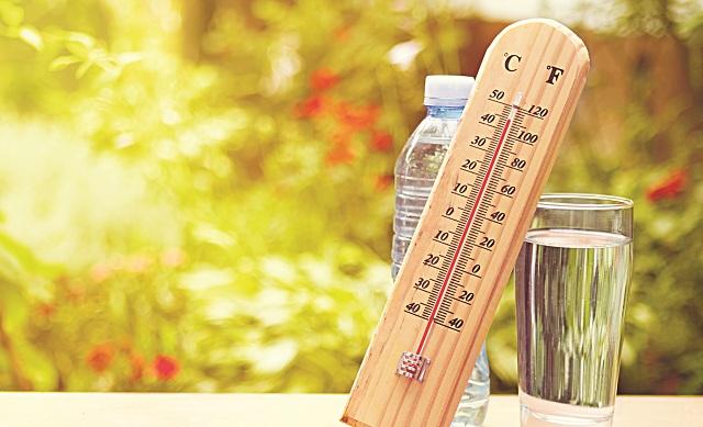 Στο «κόκκινο» η θερμοκρασία στον Βόλο