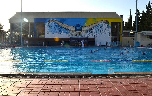Εντυπωσιάζει η τοιχογραφία στο Κολυμβητήριο Βόλου [photos]