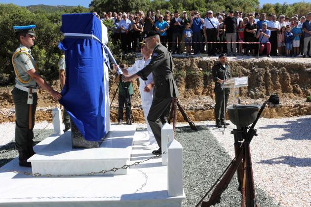 Αποκαλυπτήρια Μνημείου από τον ΑΓΕΕΘΑ για τους πεσόντες του μοιραίου Χίουι [photos]