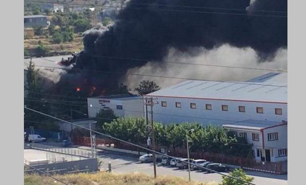 Συναγερμός στην Πυροσβεστική για φωτιά στην Α΄ ΒΙ.ΠΕ. Βόλου [photos]