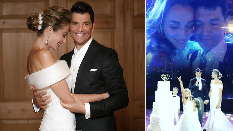 Ο Σάκης και η Κάτια παντρεύτηκαν: Το άλμπουμ του υπέροχου γάμου τους