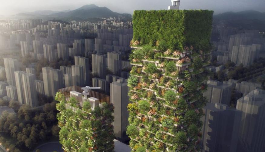 Στην Κίνα φτιάχνουν πόλη-δάσος για τη ρύπανση [εικόνες]