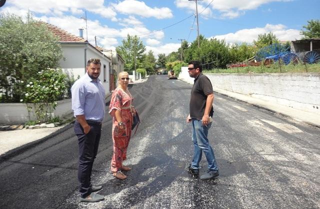 Ολοκληρώνονται ασφαλτικές εργασίες στους Δήμους Αλμυρού και Ρ. Φεραίου