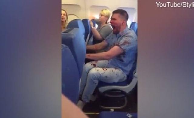 Μεθυσμένος και... ματωμένος Ρώσος επιβάτης αναστάτωσε πτήση προς Τουρκία