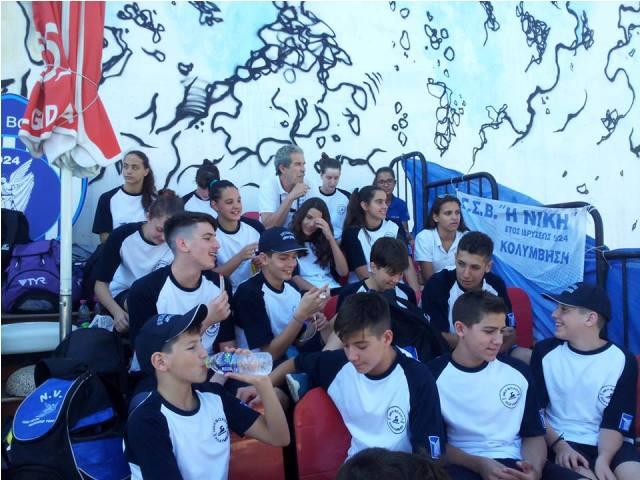 Σάρωσαν τα μετάλλια  οι κολυμβητές της Νίκης Βόλου