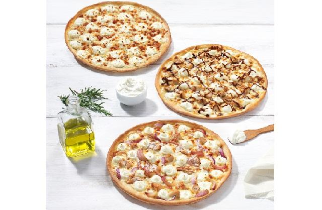 Pizza Fan: Νέες Pizza Bianca με Philadelphia