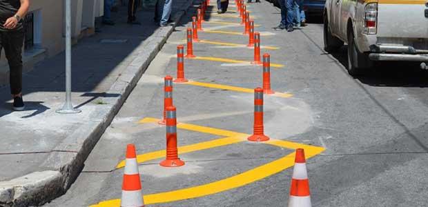Νέες θέσεις στάθμευσης δικύκλων στο κέντρο του Βόλου