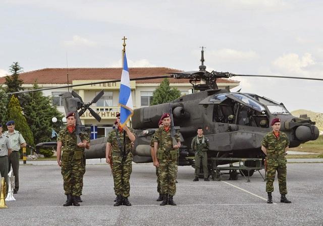 1η Τ.Α.Ξ.Α.Σ. τιμά τον προστάτη της Αεροπορίας Στρατού