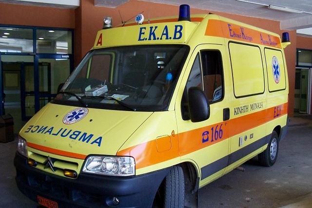 Τροχαίο με τραυματισμό 75χρονου στην Αγριά