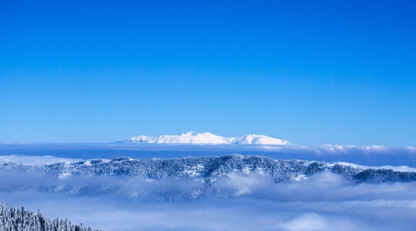 Αγνοείται ορειβάτης στον Όλυμπο λόγω χιονοθύελλας