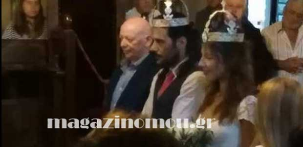Παντρεύτηκε στο Πήλιο ο ηθοποιός Γιώργος Σεϊταρίδης
