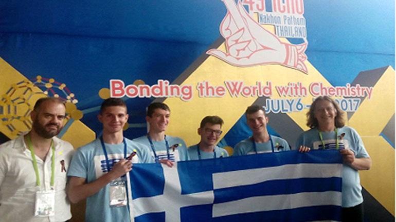 Δύο μετάλλια για την Ελλάδα στην 49η Διεθνή Ολυμπιάδα Χημείας