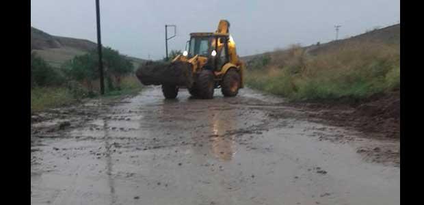 Καταρρακτώδεις βροχές στη Μαγνησία