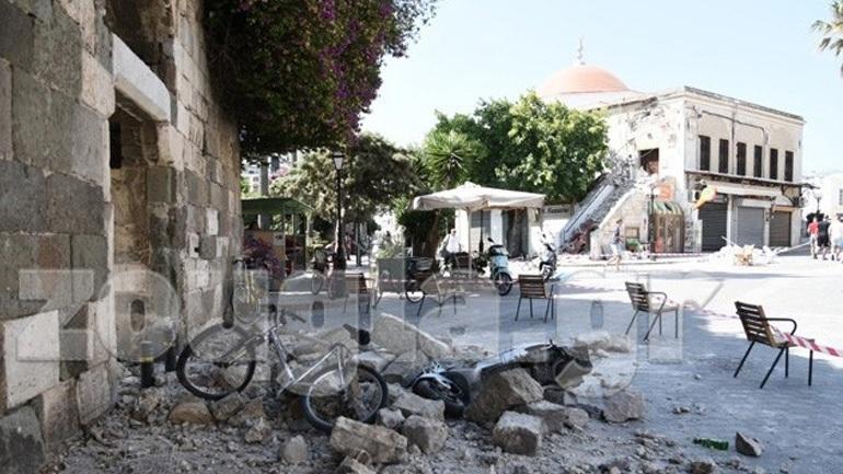 «Ομαλοποιείται» η κατάσταση στην Κω μετά τη σεισμική δόνηση