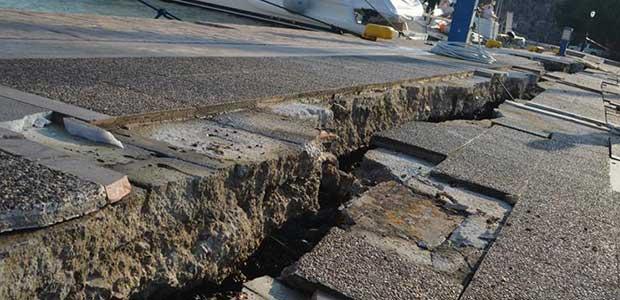 Τις πληγές της μετρά η Κως μετά το φονικό σεισμό