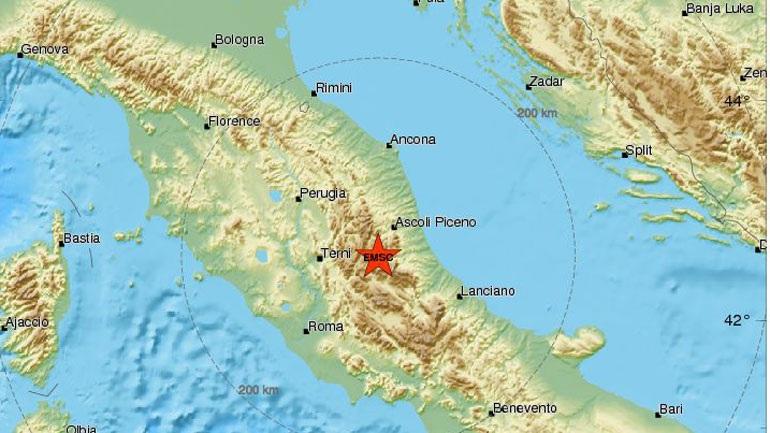 Σεισμός 4,2 Ρίχτερ κοντά στο Αματρίτσε