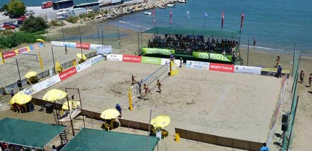 Τουρνουά στην παραλία Σκοπέλου