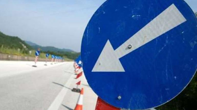 Κυκλοφοριακές ρυθμίσεις στον αυτοκινητόδρομο Κορίνθου - Πατρών από Δευτέρα