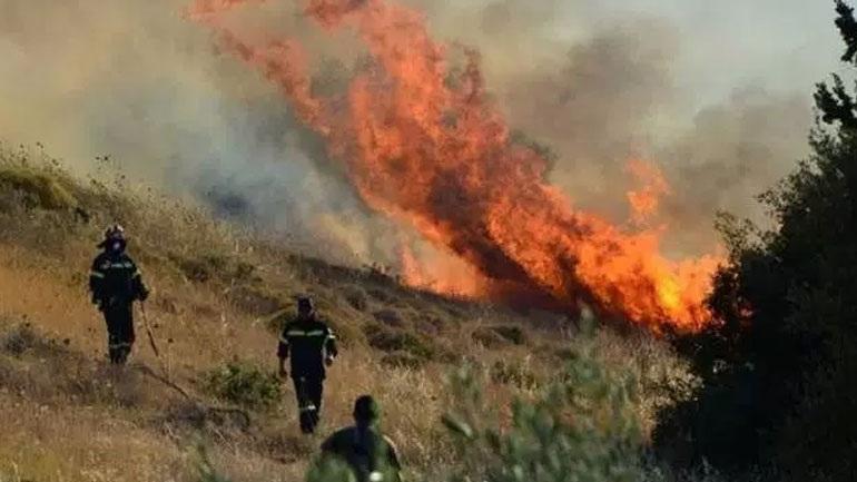 Σε εξέλιξη μεγάλη πυρκαγιά στην Κέρκυρα