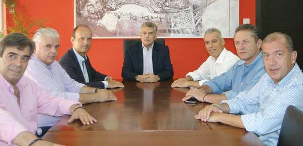 Νέους αντιπεριφερειάρχες ανακοίνωσε ο κ. Κώστας Αγοραστός