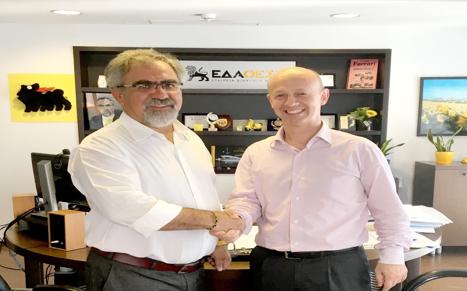 Μνημόνιο συνεργασίας μεταξύ ΕΔΑ ΘΕΣΣ και SNAM