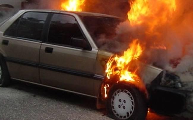 Φωτιά σε κινούμενο Ι.Χ. στον περιφερειακό