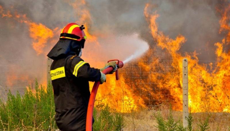 Υπό έλεγχο η φωτιά στην Ανάβρα