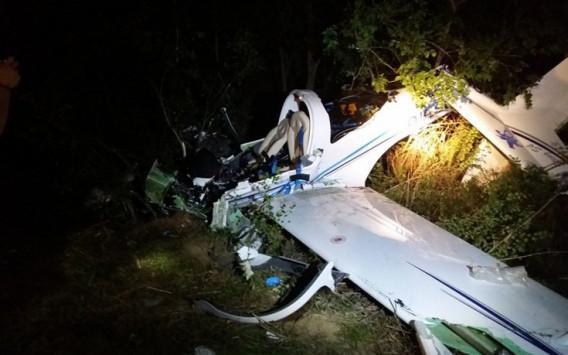 Δύο νεκροί από την πτώση του αεροπλάνου στη Λάρισα
