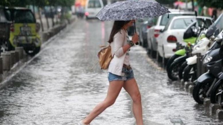 Μετά τη ζέστη έρχονται βροχές, χαλάζι & ισχυροί άνεμοι