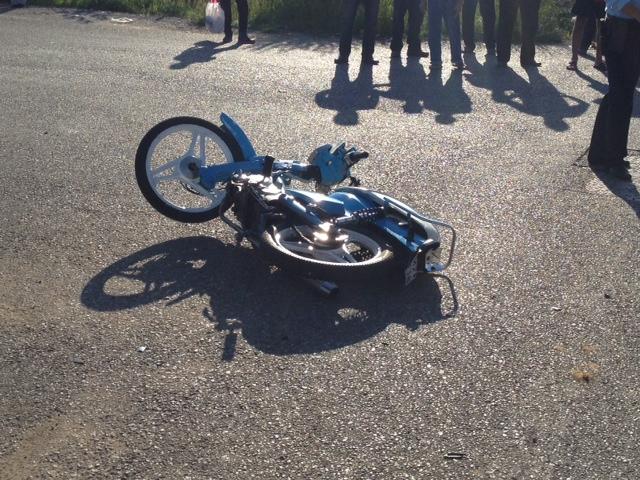 Τραυματισμός 64χρονου σε τροχαίο στην οδό Λαμπράκη