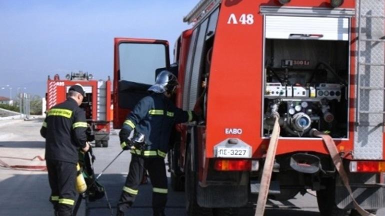 Υπό πλήρη έλεγχο τέθηκε η φωτιά στους Γόννους Λάρισας