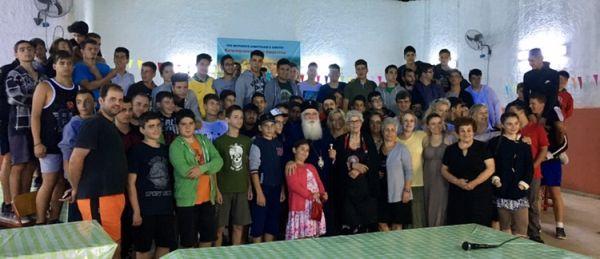 Επίσκεψη στην κατασκήνωση του Αγίου Λαυρεντίου