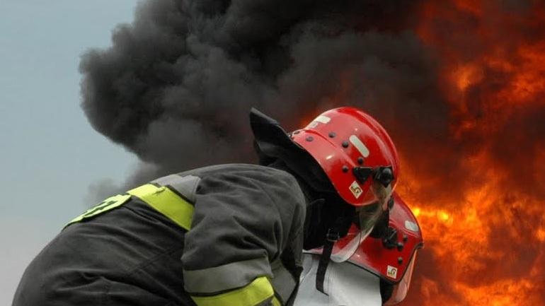 Δασική πυρκαγιά στην Αγία Άννα Εύβοιας