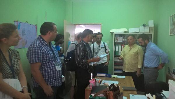 «Τσεκ απ» σε Κέντρα Υγείας ~ Επίσκεψη κλιμακίου του Παγκόσμιου Οργανισμού Υγείας