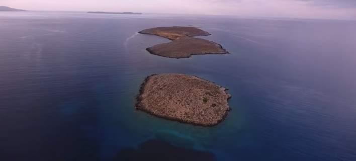 Μαγεία στο ανατολικότερο άκρο της Κρήτης: Παραλία Χιόνα και τα νησάκια Γράντες [βίντεο]