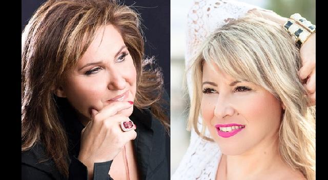 Η Λένα Αλκαίου και η Ερρικα Πατρικίου  στο «La Veranda»