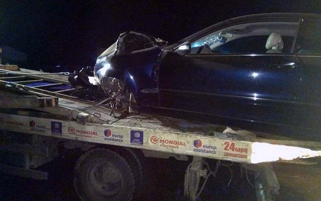 Τροχαίο με δύο τραυματίες στο Αργυροπούλι Λάρισας