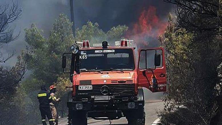 Συναγερμός στις αρχές: 54 πυρκαγιές σε ένα 24ωρο