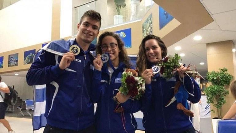 Πέντε μετάλλια για την Ελλάδα στο Παγκόσμιο Τεχνικής Κολύμβησης