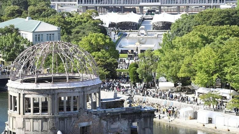 Ιαπωνία: 72 χρόνια από την καταστροφή στη Χιροσίμα (pics)