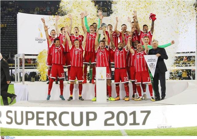 Στα χέρια της Μπάγερν  το Super Cup Γερμανίας