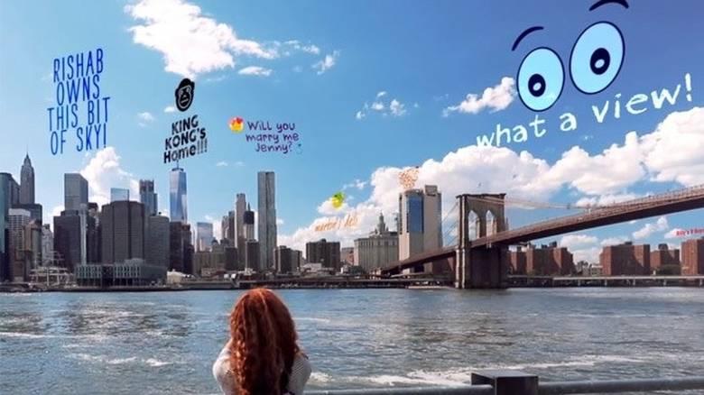 Το μέλλον της διαφήμισης γράφεται με γκράφιτι... στον ουρανό