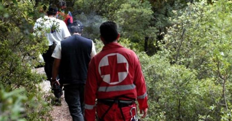 Απεγκλωβισμός νεαρής που τραυματίστηκε από πτώση στη Γριά Βάθρα Σαμοθράκης