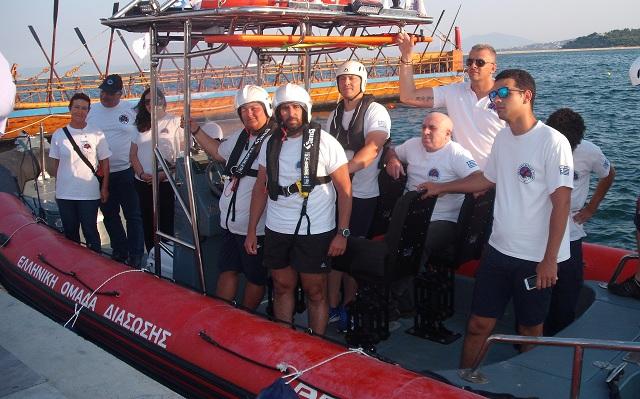 Δωρεά υπερσύγχρονου διασωστικού σκάφους