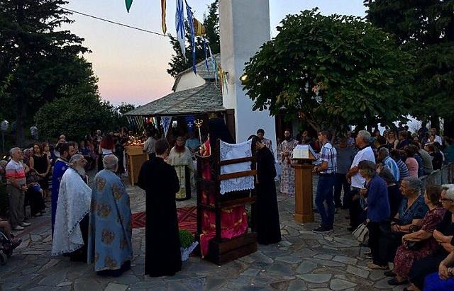 Τιμήθηκε στη Ζαγορά η μνήμη του Αγίου Τριανταφύλλου