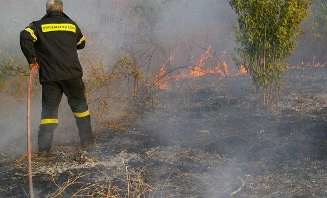 Φωτιά κατέκαψε έκταση 8 στρ. Ν. Αγχίαλο
